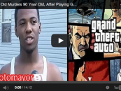 8 Year Old Murders 90 Year Old, After Playing Grand Theft Auto, With A Gun!