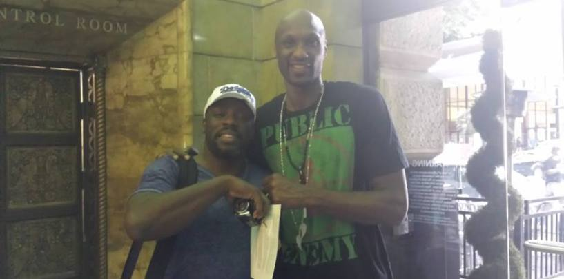Media Claims Tommy Sotomayors Condo Is Where Lamar Odom Is Getting High!