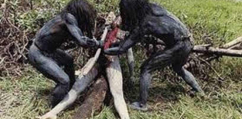 Tyrone Show Turns Cannibal As Male Cohost Get Eaten Alive By Black Beastie! (Video)