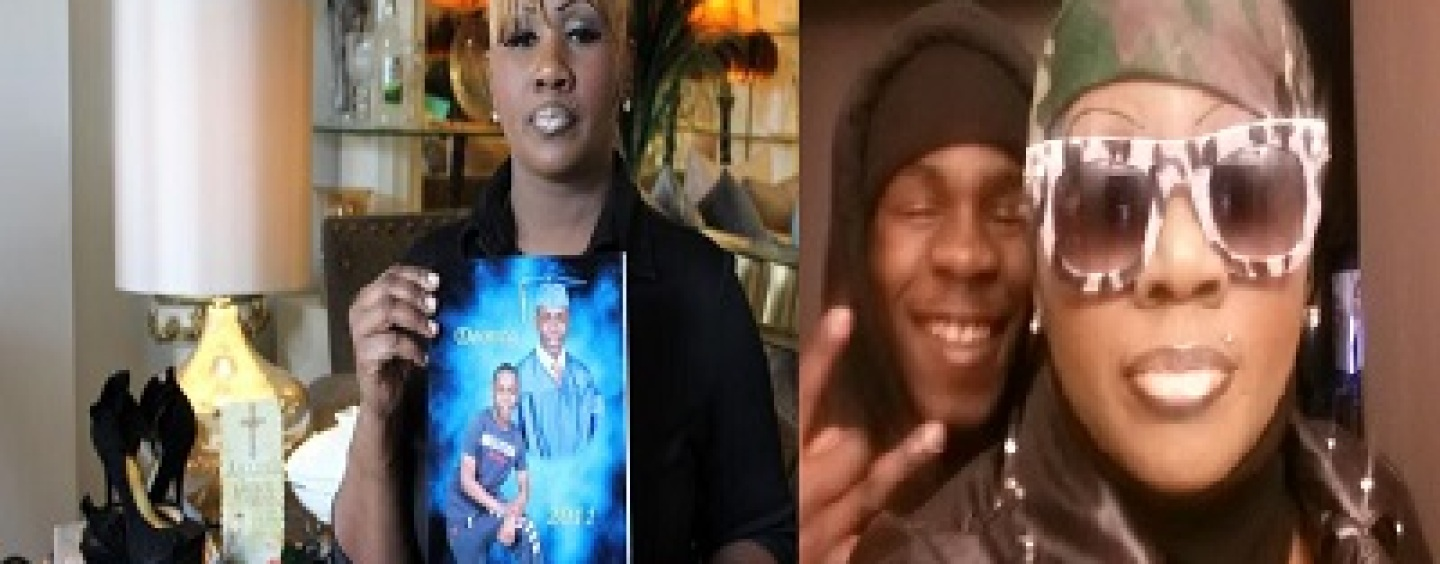 Mother Of Chicago Teen Murdered Trying To Rob An Off Duty Cop Speaks Out On Why Her Son Became A Criminal! (Video)