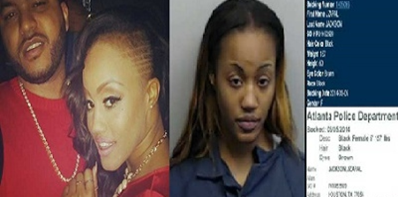 Houston Stripper Jhonni Blaze Arrested After Being A Fugitive On The Run In The Shooting Death Of Her Boyfriend! (Video)