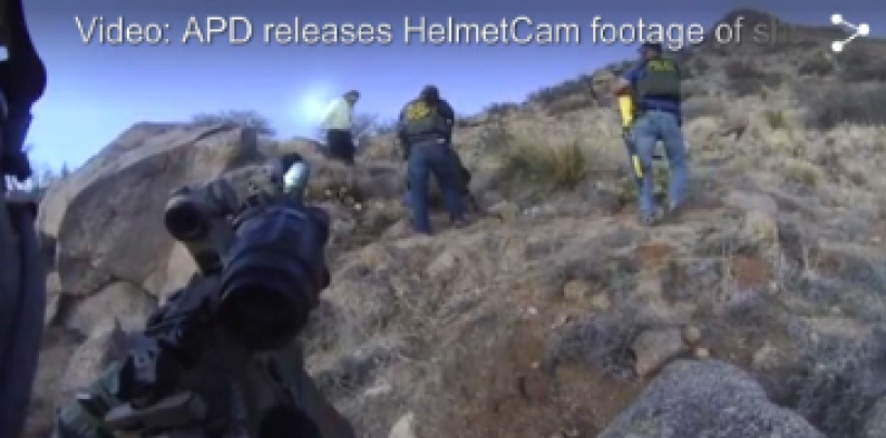 New Mexican Police Officers Murder Homeless Man For Camping & Catch It On Video! (Video)