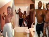 "Extra Fruity Boys Dancing In The Shower Together To Beyonce's ""Drunk In Love""! Is It Funny Or Cause For Concern? (Video)"