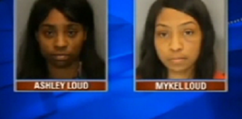 2 Beastie Moms Arrested & Charged With Leaving Their 4 Kids Home While They Went To The Club! (Video)