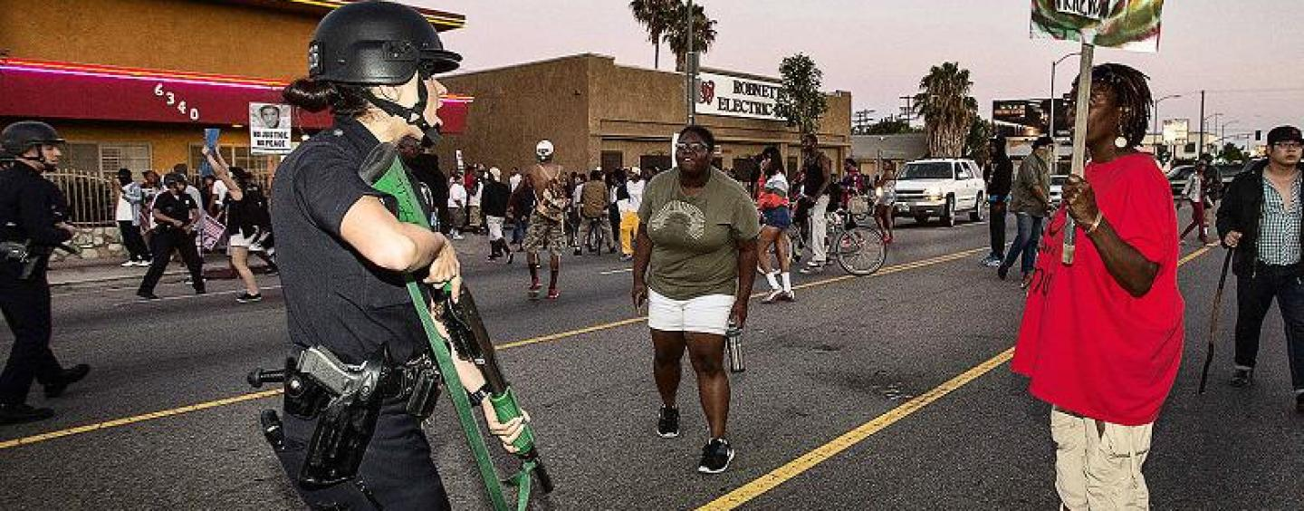 Tommy Sotomayor Lectures With People On The Street Off Crenshaw BLVD After Zimmerman Not Guilty Verdict! (Video)