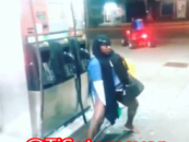 Insane Chick Uses Gas Pump To Get Herself Off By Putting It Inside Of Her! You Gotta See This!! (Video)