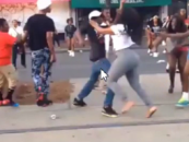 S.I.M.P. Shoots & Murders A Black Beastie Who Was Beating Him In A Poundcake-Off! (Video)