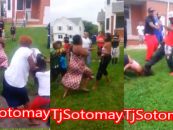 Black Women All Out Beasties Brawl After Their Daughters Get Into It & One Gets KOed By S.I.M.P.! (Video)