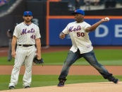 Rapper @50cent Gets Clowned By Tommy Sotomayor For His Girly First Pitch! (Video)