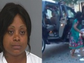 Black Beastie, I Mean, Queen Destroys Her Car As SC Repo Man Attempts To Repo It! (Video)