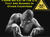 Wake Up And Pay Attention!!!10 American Foods That Are BANNED In Other Countries!