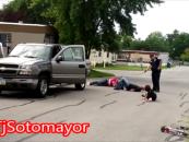 Police Brutality Or Justified Force?  White Trailer Park Family Gets Harassed When Ohio Officer Goes Nuts On Them! (Video)