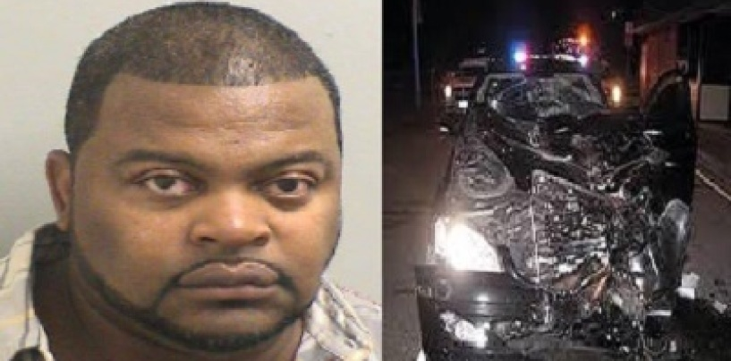 New Jersey S.I.M.P. Arrested For Choking & Running Over His Girlfriend At A Local Gas Station! (Video)