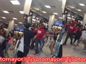 Arden Fair Mall In Sacramento Shut Down Due To Dozens Of Niggaz Fighting! (Video)