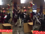 A Pack Of Niggaz Destroy Chicago McDonalds & Other Chicago Tourist Spots! (Video)