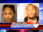 UPDATE: Mother Arrested In Brutal Beating Of 3-Year-Old Over Piece Of Cheesecake! (Video)