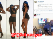 What Is This Obsession Of Dark Girls With Extra Long Weave & Slutty Behavior? (Video)