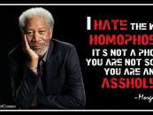 2/13/15 – Is Homophobia Real Or Just A Word Used To Guilt People Into Accepting The Lifestyle?