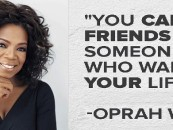 """""""You Can't Be Friends With Someone Who Wants Your Life!"""" Pt 1 Quote By Oprah Winfrey Video By Tommy Sotomayor! (Video)"""