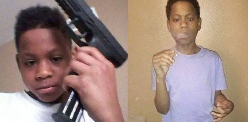 13 Year Old Boy's Instagram Page Proves Why Cops Feel Justified In Shooting Down Black Males! (Video)