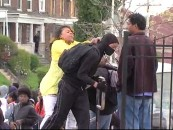 Hair Hatted Hooligan Beats Her Kid Live On National TV For Joining The Baltimore Riots! Was This Good Parenting Or Evidence Of A Larger Problem? (Video)
