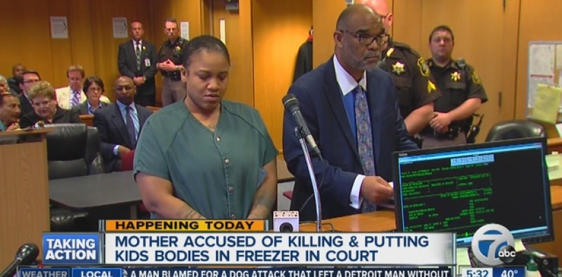 Mom Who Murders Kids & Puts Bodies In The Freezer To Keep Getting Child Support Goes Nuts In Court!  (Video)