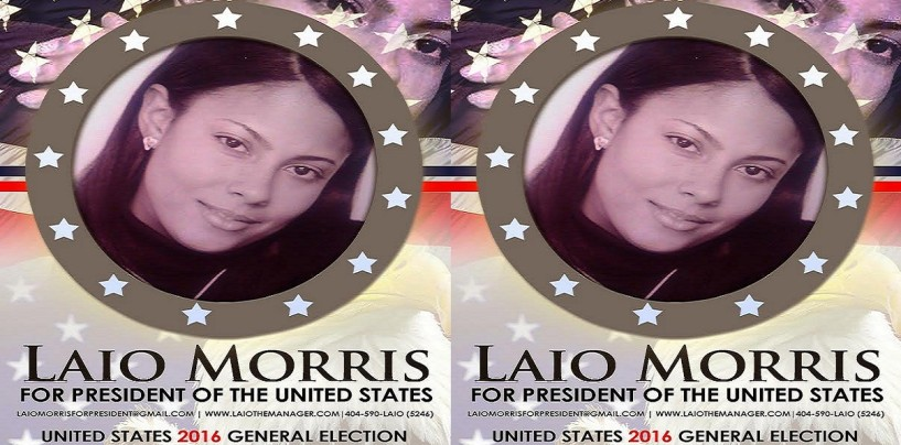 Laio Morris 'The Baby Momma Presidental Candidate' In 2016 Goes 1 On 1 With Tommy Sotomayor Live