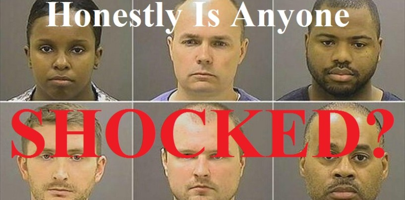 5/2/15 – 6 cops Arrested In Baltimore! What Are Your Thoughts?