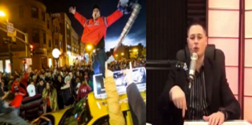 White Radio Host Kyle Kulinski Coonin For Blacks By Comparing How Whites Riots To How Blacks Riot! (Video)