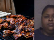 Fatty McFat BT-1000 FDSE Stabs Another Fatty In The Eye With A Fork Over Last BBQ Rib! #IShitUNot (Video)