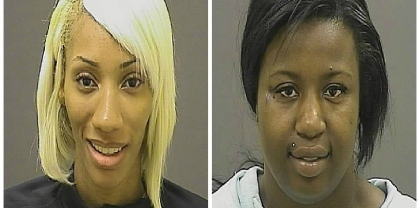 2 Negro Female Police Officers Arrested For Robbing 7-11 Store During Baltimore Riots! #DoingDumbShit  (Video)