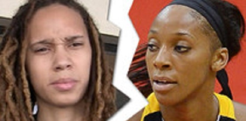 Glory Johnson & Brittney Griner AKA The Famous Phoenix Fightin' Dykes Call Their 28 Day Marriage Quits! (Video)
