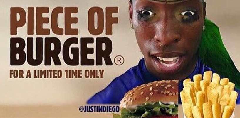 """Courtney Barnes """"A Piece of Burger"""" Viral Video Star Arrested (Video)"""