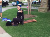 UPDATE! Taxas Cop Suspended! See What Caused The Texas Cops To Detain & Harrass Black Teens At A Pool Party! (Video)