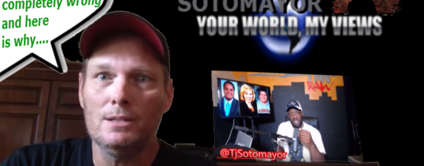 """MRA White Guy Gene Says """"Tommy Sotomayor Is Completely Wrong"""" & Here's Why! (VIDEO)"""