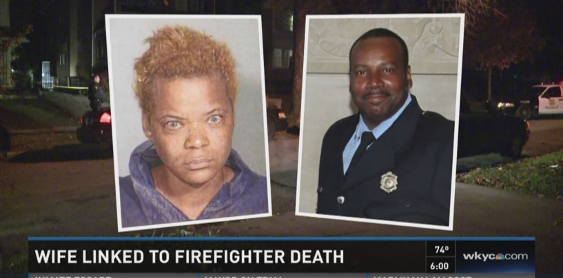 BT-900 Has Her Firefighter Husband Shot To Death On His Own Driveway In Cleveland! (Video)