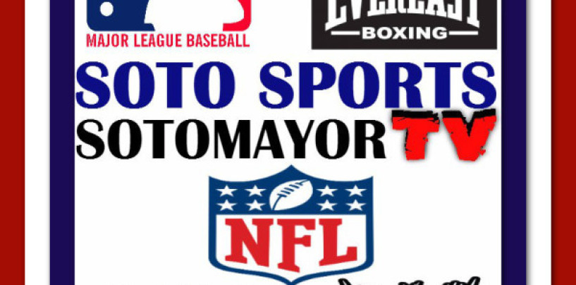 9/30/2015: SOTOMAYOR TV SPORTS LIVE ON AIR WITH @p9cker_girl !
