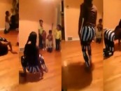 Black Chicks Twerks In front Of A Room Full Of Kids Crying & Still Post It Online! #WorstStewards Of Children (Video)