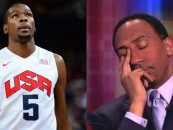 ESPN's Stephen A Smith Threatens Kevin Durant & Other Black NBA Players Live On Air! (Video)