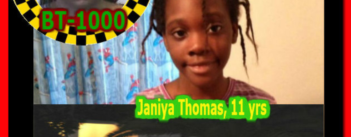 UPDATE: Missing Child Janiya Thomas, 11 Yrs Old, Found Dead In Family Freezer!
