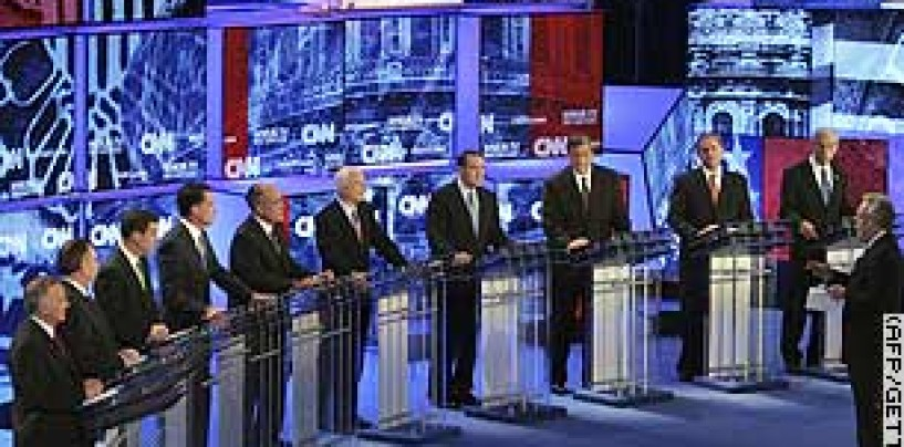 GOP Debate Live Coverage Commentary 6 pm est/ 3pm pst