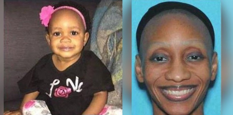 Black Baby Named Twinkle Twinkie Twilight Found After Amber Alert Finds Her With Mentally Slow BT-900 RetardoMom! (Video)
