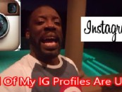 Instagram Reinstates All of Tommy Sotomayor's Profiles After His Youtube Rant! (Video)
