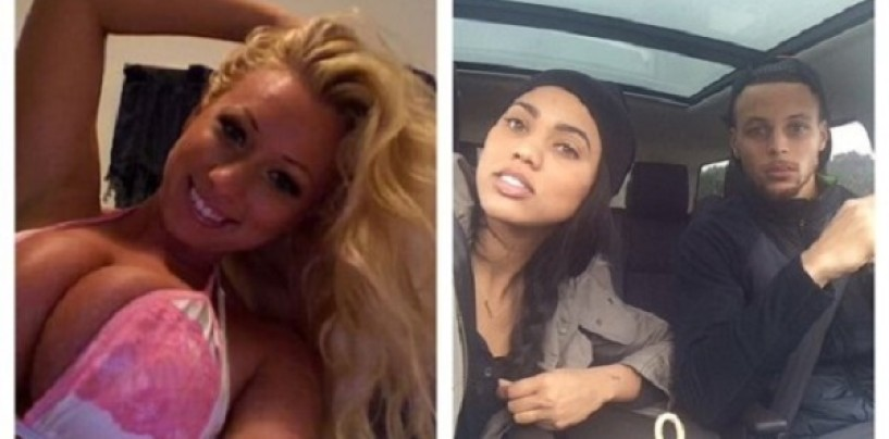 Bucked Tooth Fatty Mcwhite Whore Jenna Shea Tells Steph Currys Wife That Hes Gonna