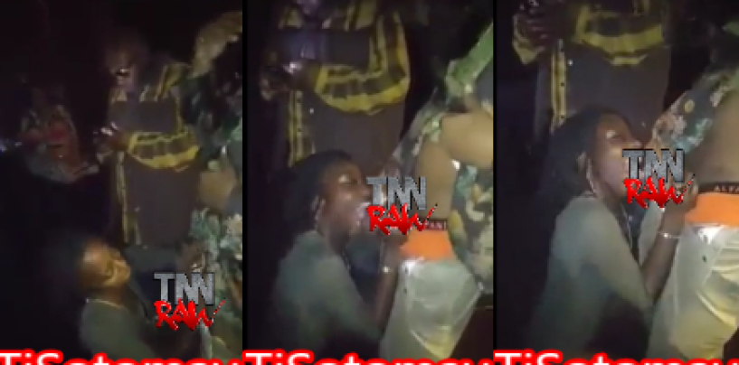She Blew A Complete Strangers Dome For New Years While Others Watched & Recorded It!