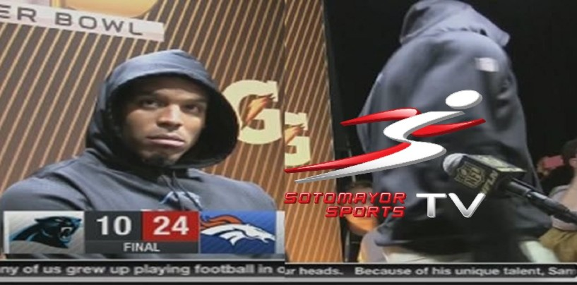 Panthers Players Explain The Real Reason Cam Newton Walked Out On The Reporters! (Video)
