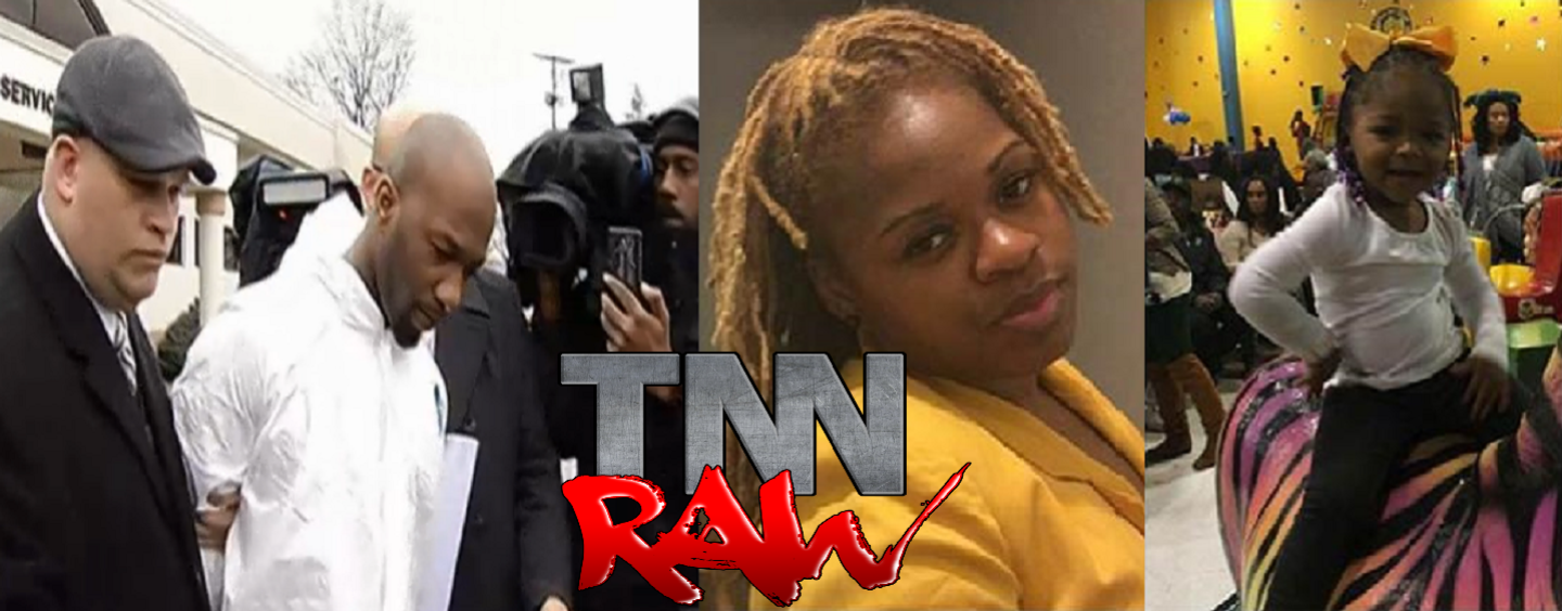 Man Murders His 2 Year Old Child & The Child's Mother Over Child Support He Owed Them! (Video)
