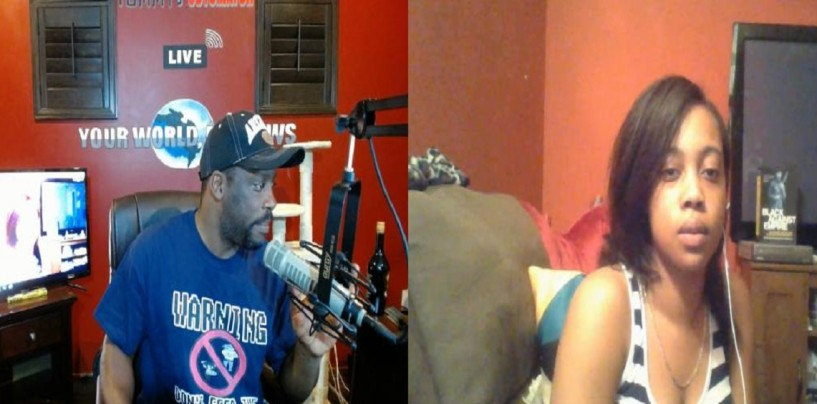 Black Woman Seirra Says Tommy Needs To Focus On Black Men & Not Women! (Live Broadcast)