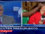 Black Beast PoundCakes Beautiful Latina Reportor Live On Air! (Video)