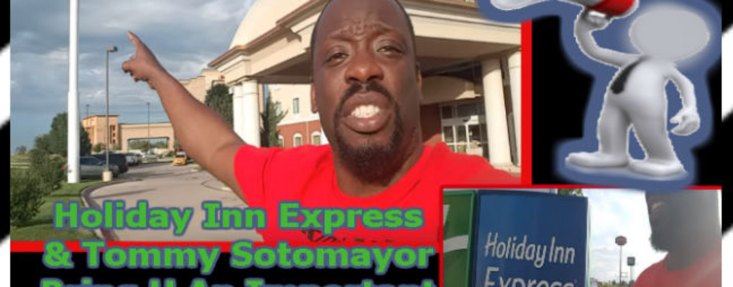 Holiday Inn Express & Tommy Sotomayor Bring You An Important PSA! (Video)